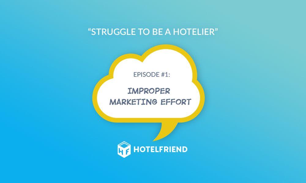 Comic episode #1: Improper marketing effort