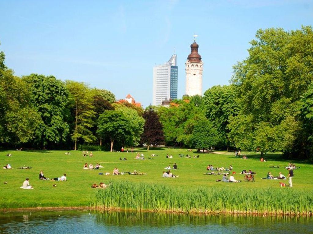 The Clara-Zetkin Park