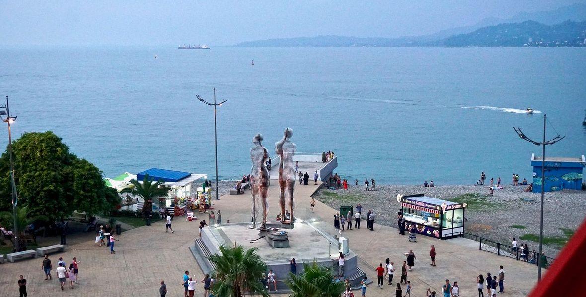 Ali & Nino Statue, Batumi