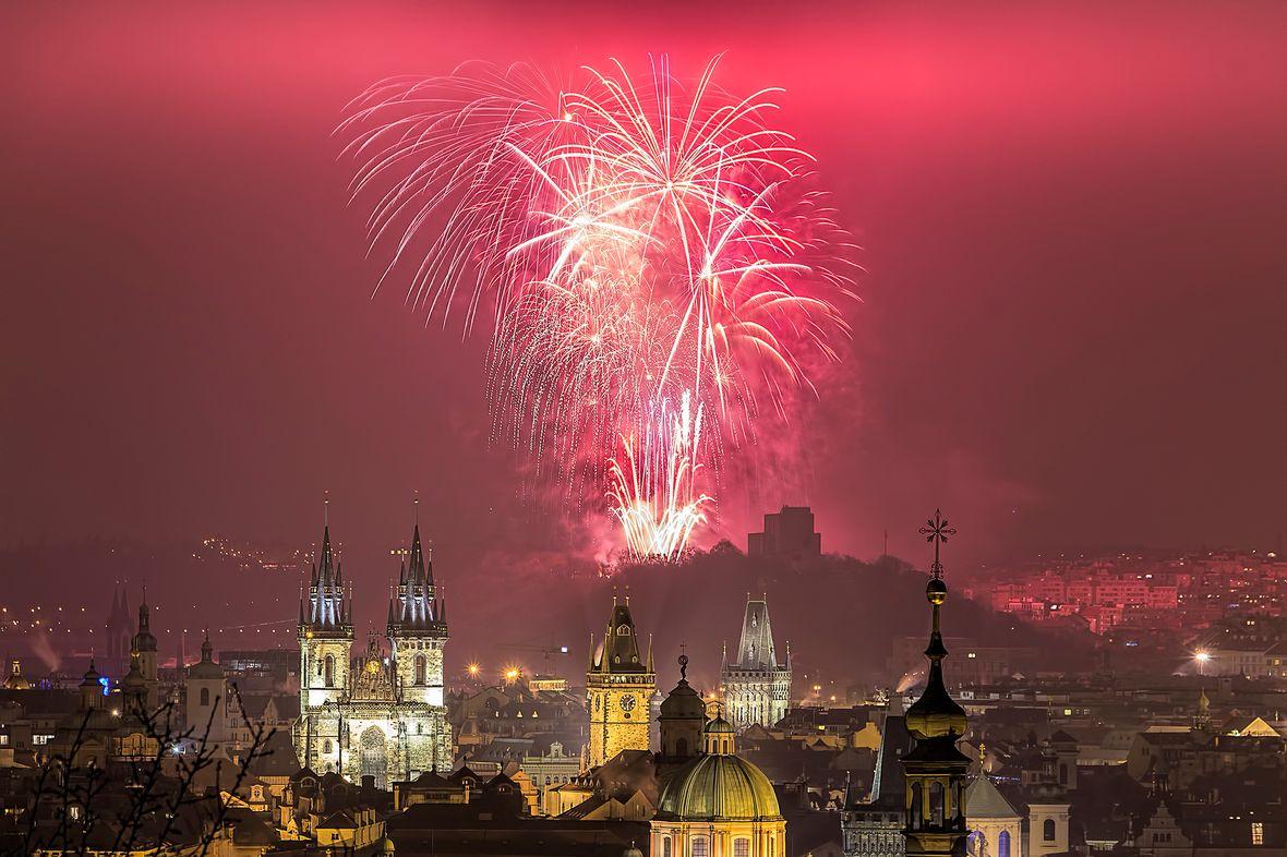 Silvester, Prag