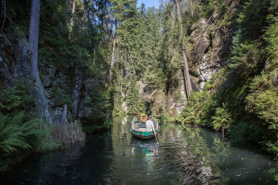 The Mardertelle Gorge