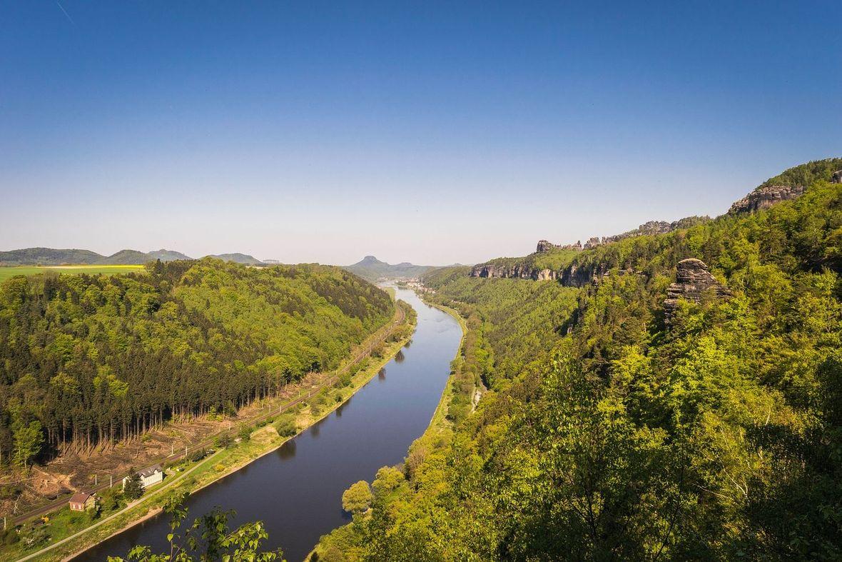 The Elbe valley