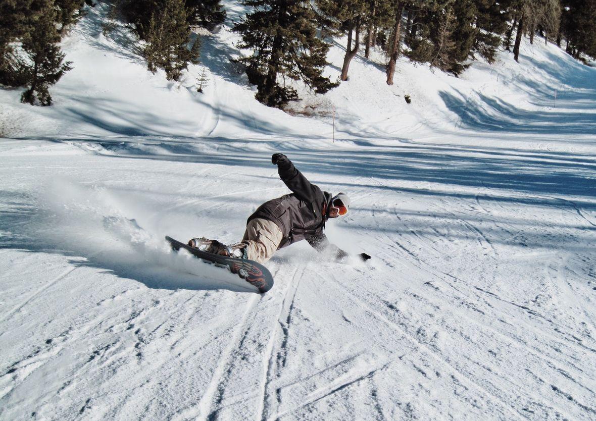 Oberbayern Snowboarden