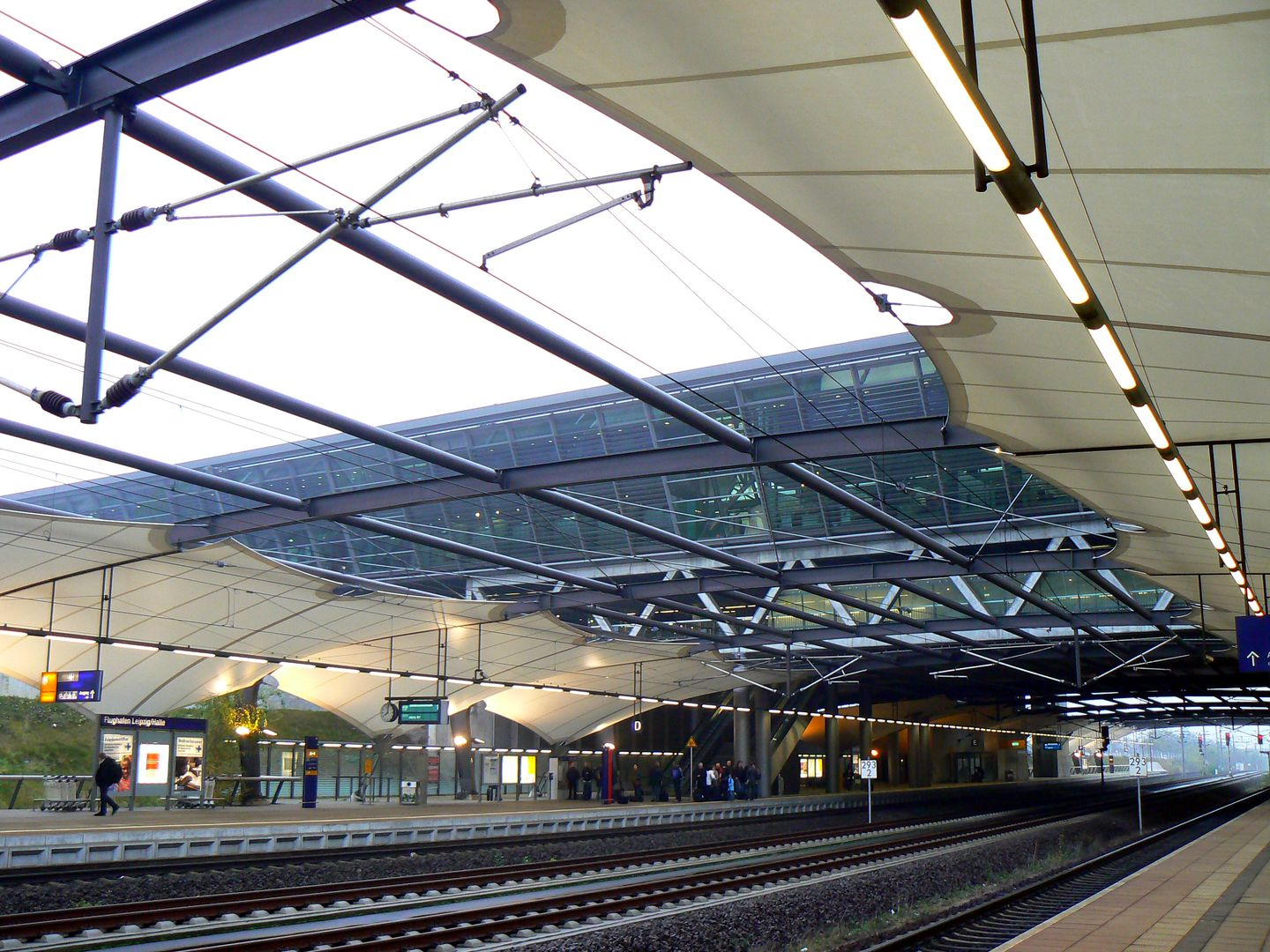 Station Airport Halle Leipzig