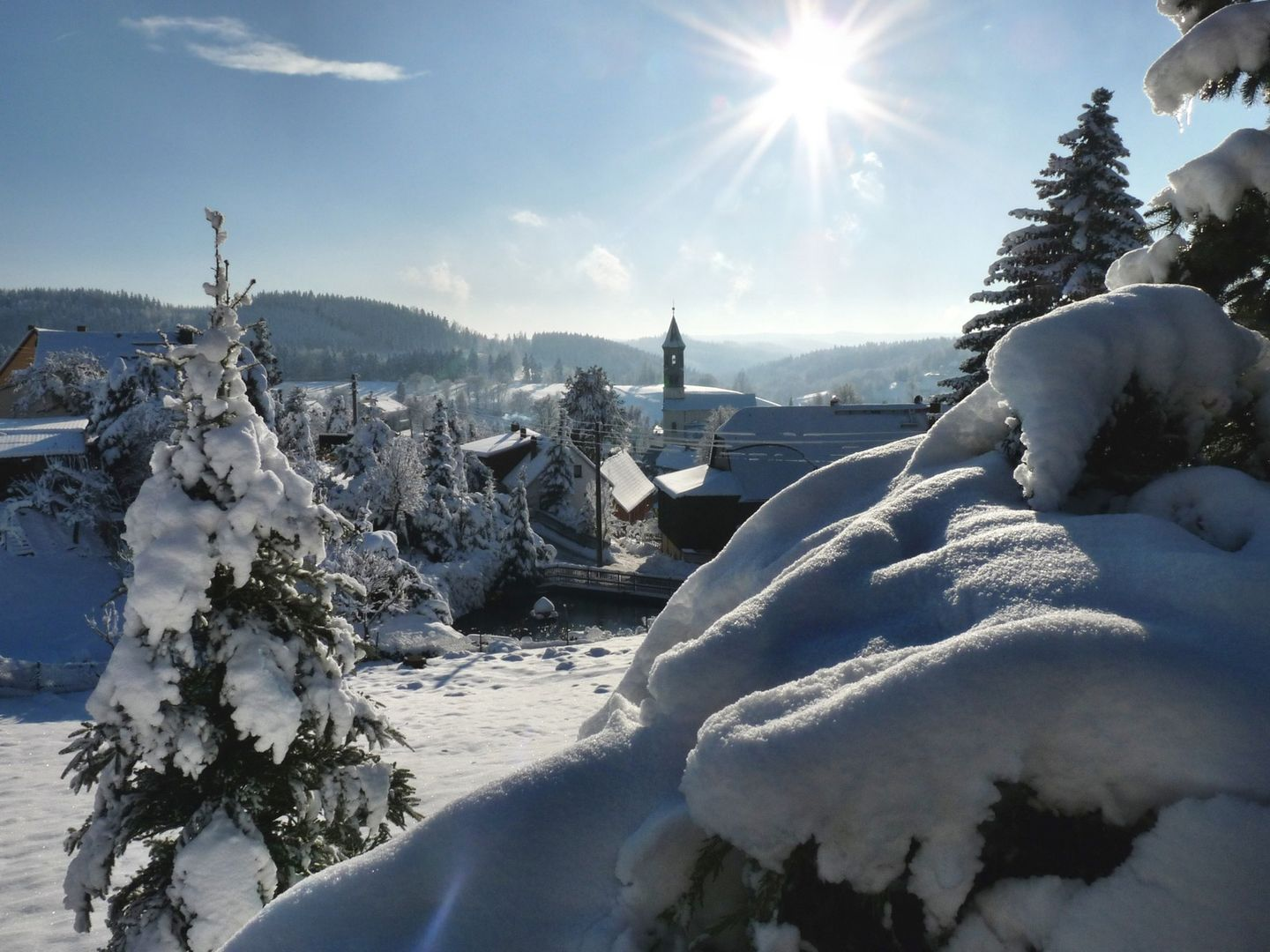 Winter in Saxon Switzerland