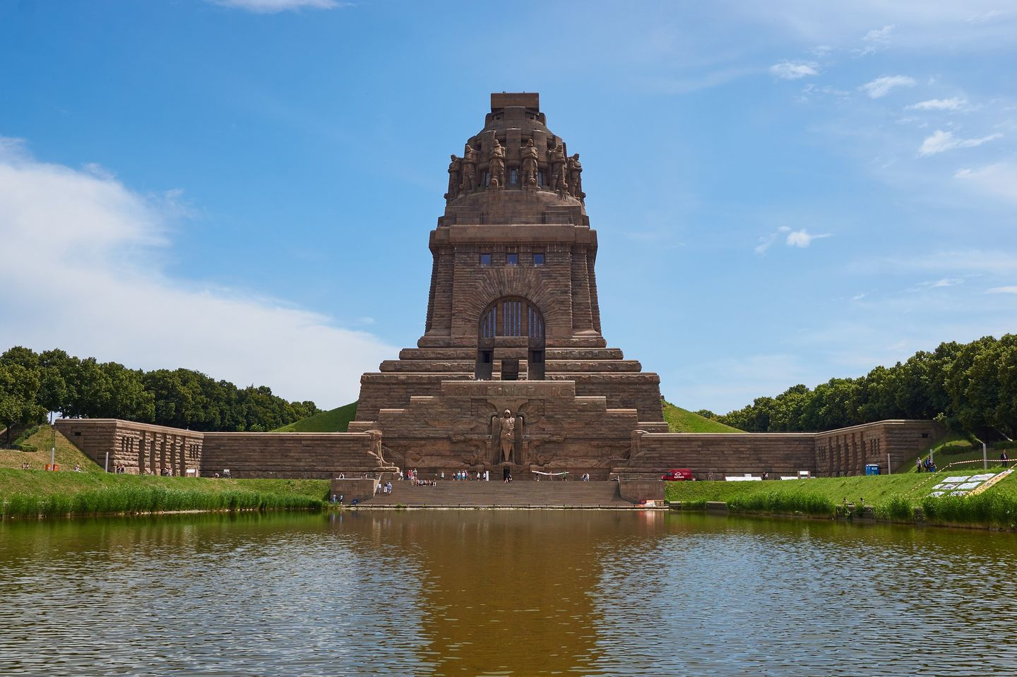 Panorama of the Monument to the Battle of the Nations