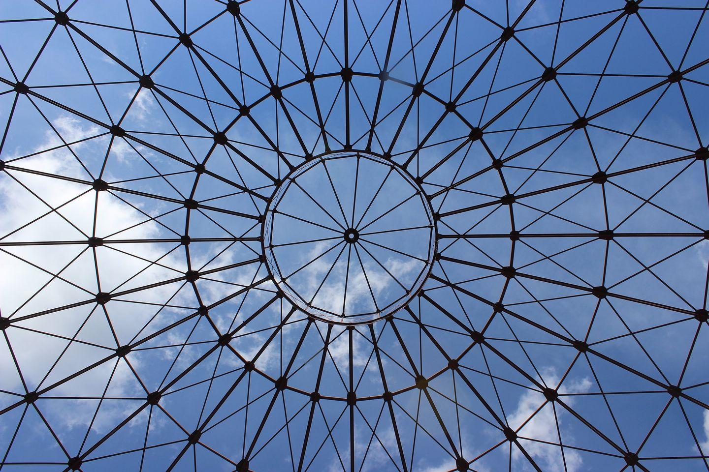 Leipzig Panometer Blick von innen
