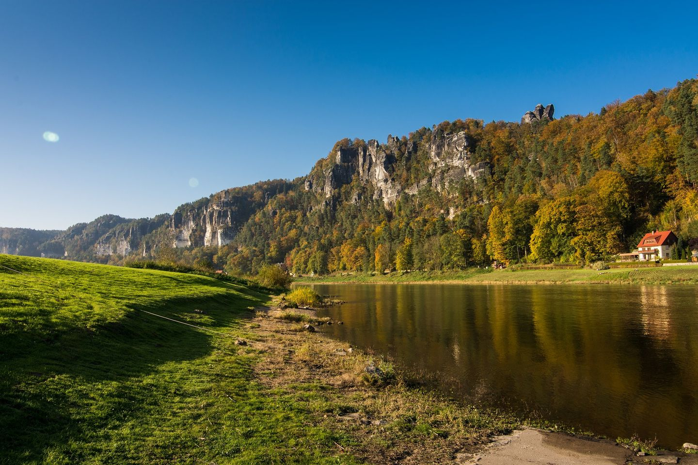 The Elbe river