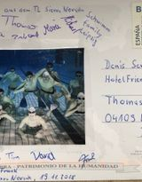 Thanks to SSG Leipzig team for the postcard