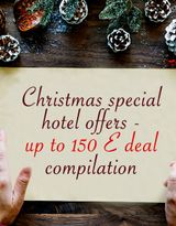 Christmas special hotel offers - up to 150 E deal compilation