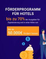"""""""Digital Jetzt"""" - HotelFriend ermöglicht die Digitalisierung von Hotels, mit staatlichem Zuschuss - einer einmaligen Förderung für Hotels"""