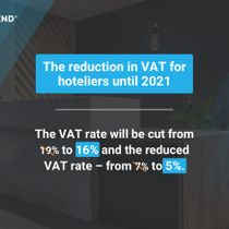 VAT Rates Reduction for Hoteliers Starting from July 1