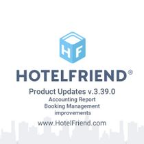 Product Updates v.3.39.0: Accounting Report, booking management improvements