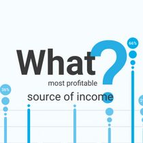 What was your the most profitable source of income?
