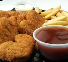 hahnchen nuggets