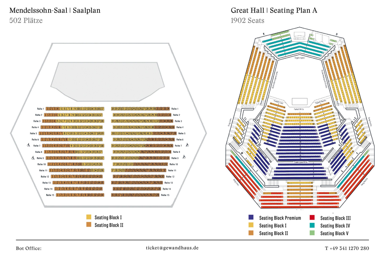 Gewandhaus Leipzig Sitzplan