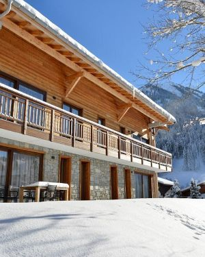 Luxury Apartment on the Ski Slope in la Chapelle Dabondance