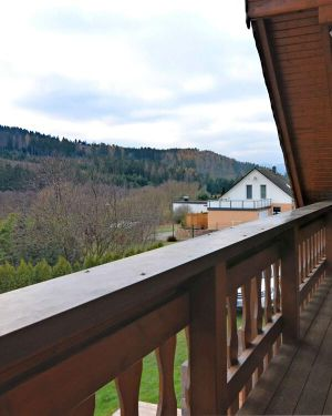 """Exclusive Holiday Home in the Sauerland with """"Sleeping Barrel"""", Balcon"""