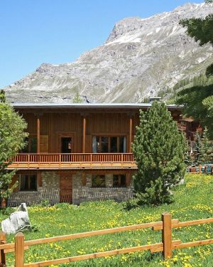 Lovely Chalet at the Bellevarde Ski Lift in Espace Killy