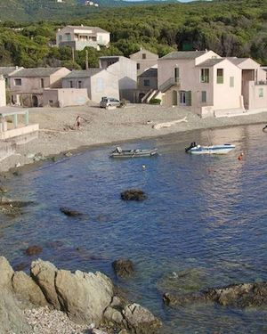 House with One Bedroom in Centuri, with Wonderful Sea View And Furnish