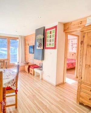 Apartment 6 Personnes Tignes Val Claret Skis Aux Pieds.