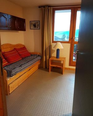 Studio in Vallandry, with Wonderful Mountain View, Balcony And Wifi -
