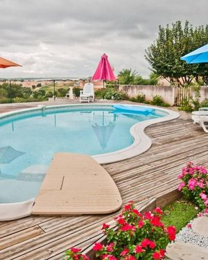 Apartment with 3 Bedrooms in Furiani, with Pool Access, Enclosed Garde