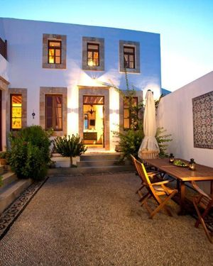 Lindos Villa Sleeps 7 Pool Air Con Wifi