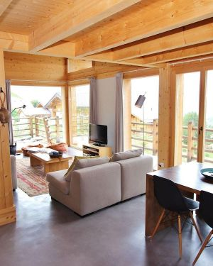 Superb New Chalet, Built in 2010, in the Middle of the Ski Resort of T