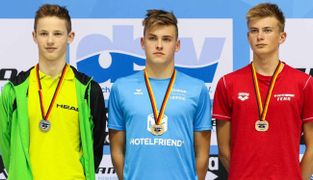 SSG Leipzig Wins 2x Backstroke Gold in Berlin