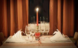 hotel adler candle light dinner in oberstaufen im hotel zum adler
