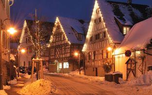 lagovida weihnachten am see nahe leipzig