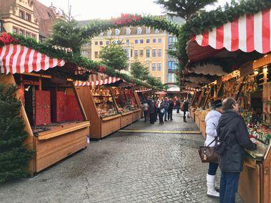 Einblicke in den Leipziger Weihnachtsmarkt