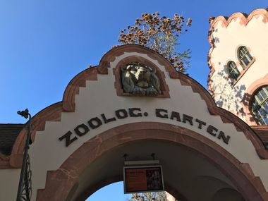 Leipzig Zoo main gate