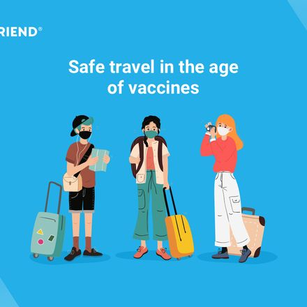 Safe travel in the age of vaccines