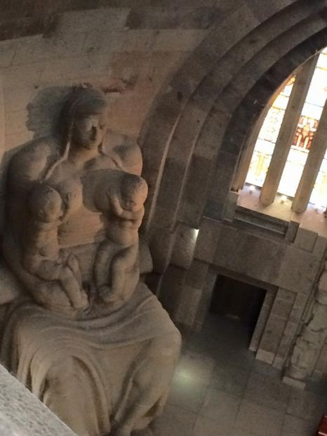Skulptur des Völkerschlachtdenkmals