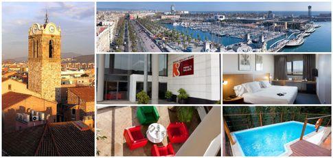 Hotel Porta de Gallecs in Mollet nahe Barcelona