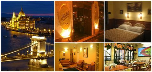 Hotel Swing City in Ungarns Hauptstadt Budapest