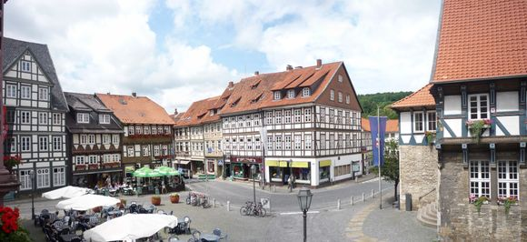 Bad Gandersheim market square