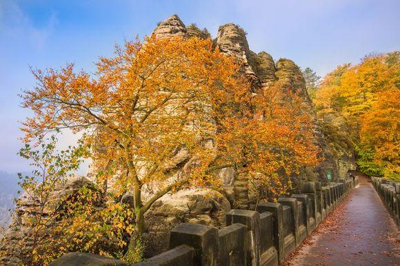 The Bastei Bridge