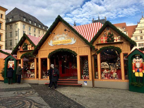 Leipziger Weihnachtsmarkt Käthe Wohlfahrt