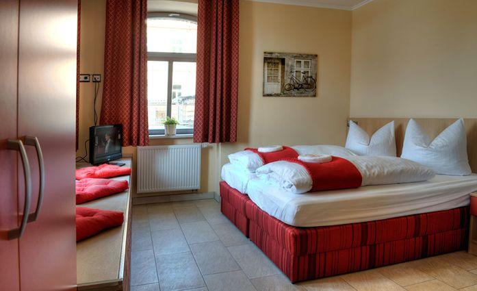 Hotel Alter Speicher.Doppelzimmer.90801