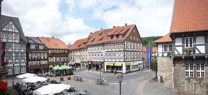 Bad Gandersheim Marktplatz