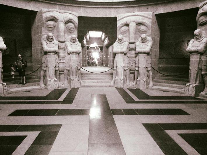 Ruhmeshalle im Völkerschlachtdenkmal