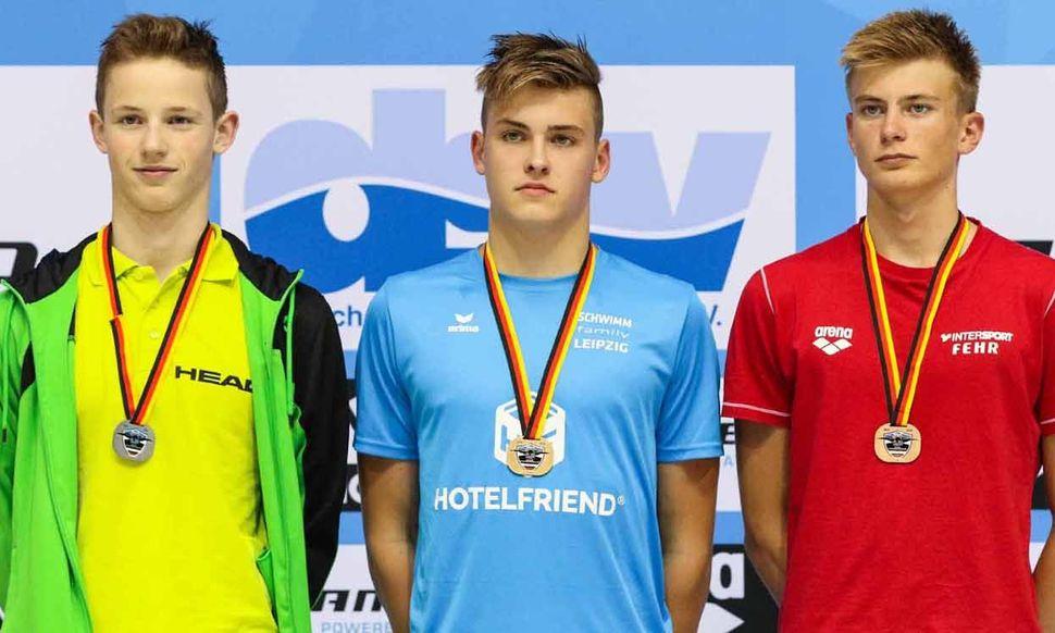 SSG Leipzig Wins 2x Backstroke Gold in Berlin