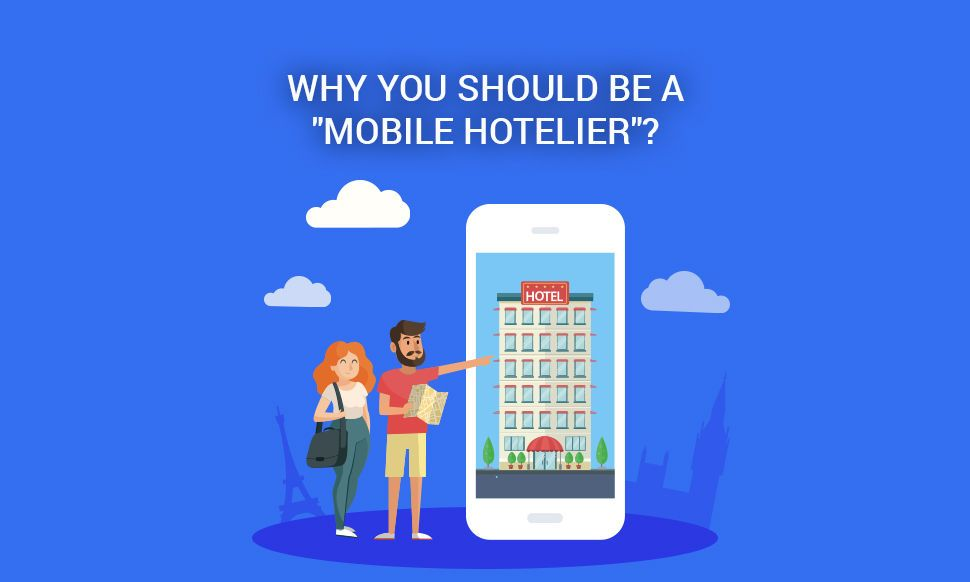 Smartphones as a tool for more efficiency both of hoteliers and guests
