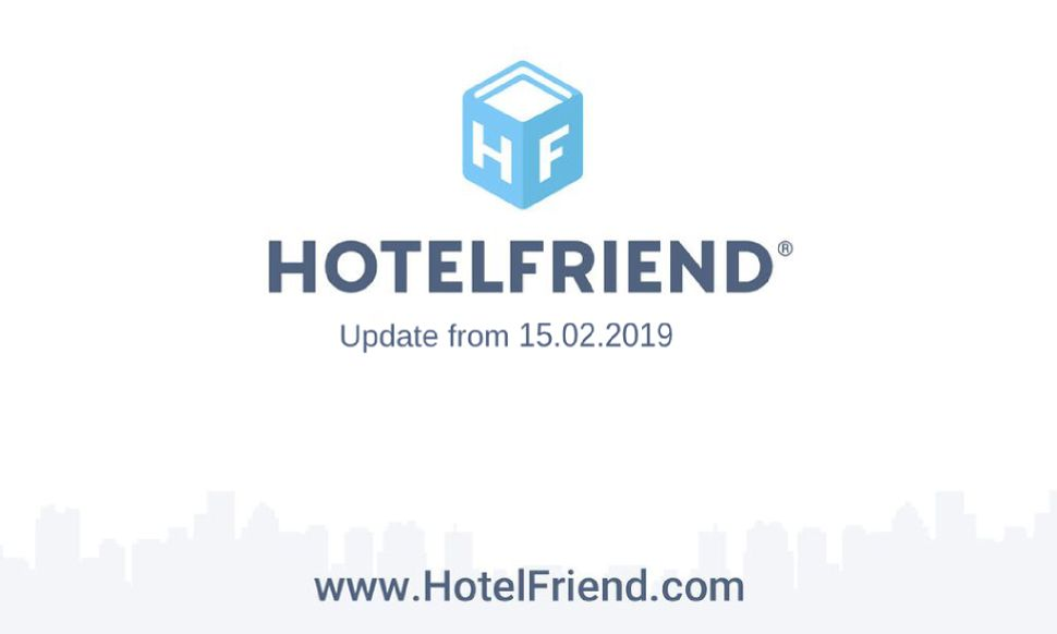 Product updates from 15.02.2019