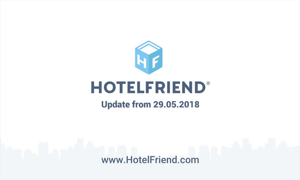 Product updates from 29.05.2018