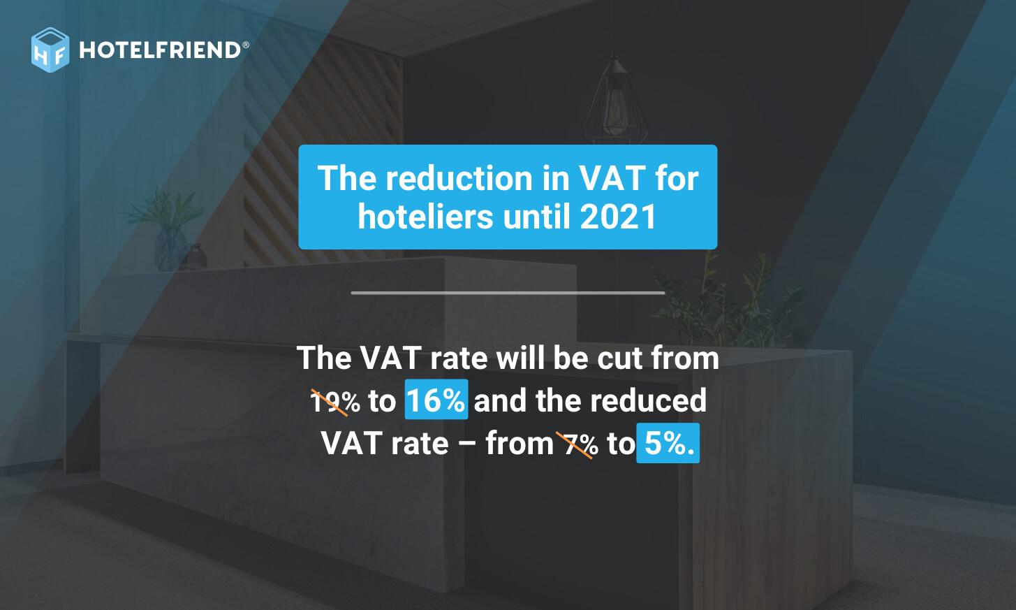 VAT rates reduction