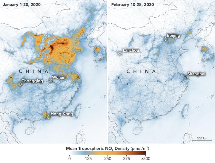 airborne-nitrogen-dioxide-plummets-over-china